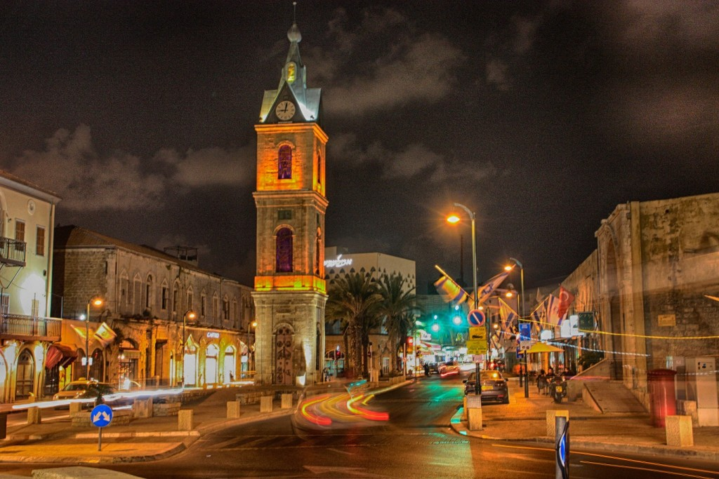 Clock Tower - The old city of Jaffa
